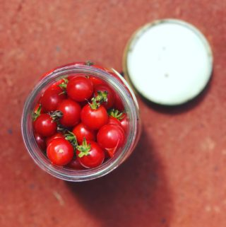 Smoked Cherry Tomato Jam for Back-to-School